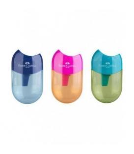 Ξύστρα Faber-Castell Aplle Δίχρωμη - 3 Χρώματα 183515