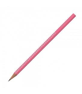 Μολύβι Faber-Castell Sparkle Μεταλλικό Ροζ