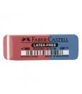 Γόμα Faber Castell 187040 κόκκινη/μπλε