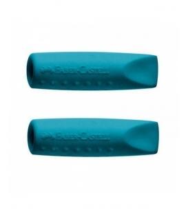 Γόμες Καπάκ ιFaber-Castell Grip σετ 2 τεμάχια σε Πετρόλ χρώμα 12308437