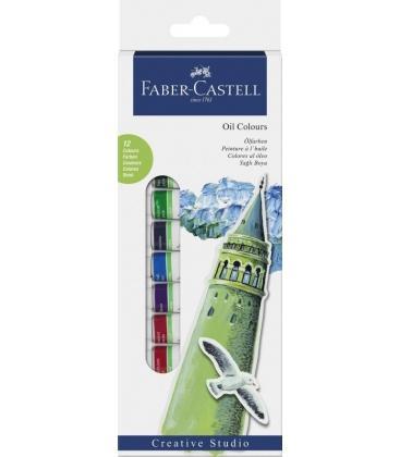 Λαδομπογιές Faber Castell 12 Χρ.Oil