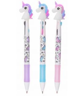 Στυλό με 3 Χρώματα Μονόκερος