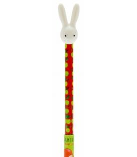 Santoro Poppi Loves Pen With 3d Bunny Topper Cutesy5018997320075