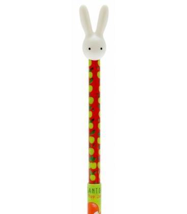 Santoro Poppi Loves Pen With 3d Bunny Topper Cutesy5018997320075
