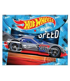 Φάκελος με Κουμπί Α4 PP Hot Wheels 349-24580