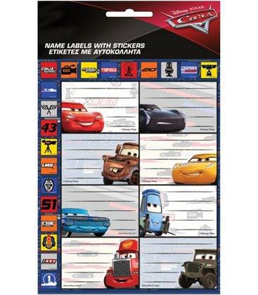 Ετικέτα CARS GIM 772-16649 2ΤΜΧ