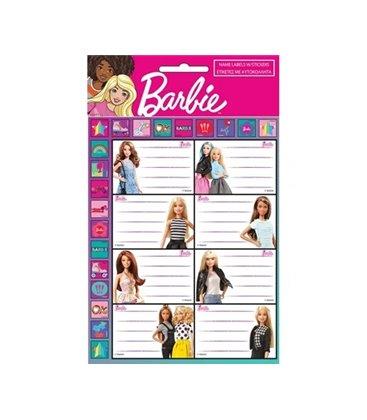 Ετικέτα Barbie GIM 779-10649 2τμχ