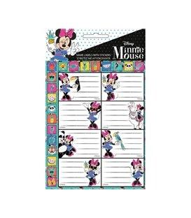 Ετικέτα Minnie Mouse GIM 773-14049 2τμχ