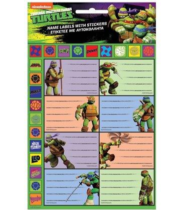 Ετικέτα Turtles GIM 774-02549 2τμχ