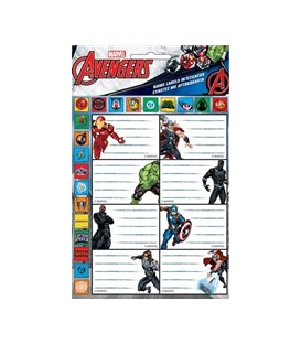 Ετικέτες Avengers GIM 777-54149