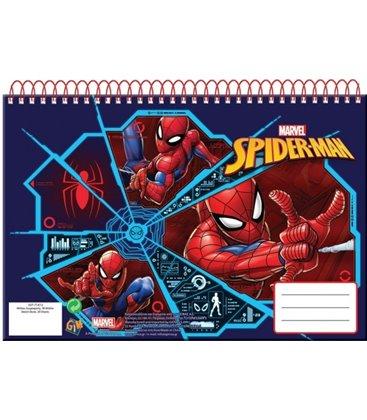 Μπλοκ Ζωγραφικής Spinderman A4 30φ 337-75413