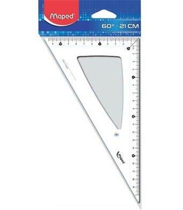 Γεωμετρικό Τρίγωνο Maped CRISTAL 146 21CM - 45°