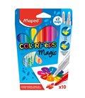 Μαρκαδόροι Maped 10χρ Μαγικοί ColorPaps Magic