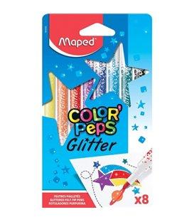 Μαρκαδόροι Μαγικοί Glitter Maped color Paps Glitter