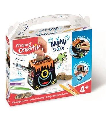 Δημιουργικό Σετ κουμπράς Maped Mini Box 4+