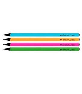 Μολύβι HB Faber Castell Black Pastel 4 Xρωματα