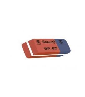 Γόμα Pelikan ΒΡ80 Ροζ/Μπλε
