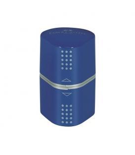 Ξύστρα Faber Castell 183801 grip τριπλή Μπλε