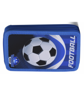 Κασετίνα STATOVAC Διπλή Γεμάτη FOOTBALL LEAGUE SZ-10