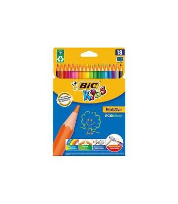Ξυλομπογιές BIC 18 Χρ. Ζωντανά Χρώματα
