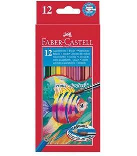 Ξυλομπογιές Ακουαρέλας Faber Castell 12 Xr.
