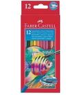 Ξυλομπογιές Ακουαρέλας Faber Castell 12χρ