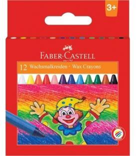 Κηρομπογιές 12Τμχ Faber Castell