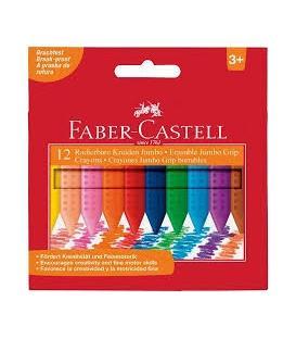ηρομπογιές Faber Castell 122540 Jumbo grip 12τεμ.