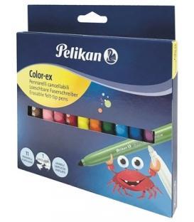 Μαρκαδόροι Pelikan 12χρ Χονδροί Color Ex Magic