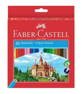Ξυλομπογιές Faber Castell 48χρ