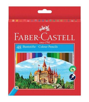 Ξυλομπογιές Faber Castell 48 Χρ.