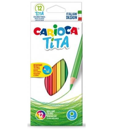 Ξυλομπογιές Carioca 24χρ. Tita