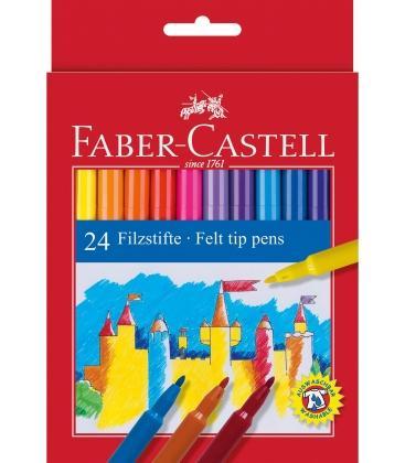 Μαρκαδόροι Faber Castell 24 χρ. Washable