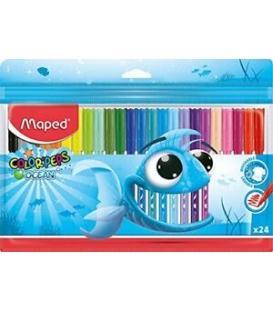 Μαρκαδόροι 24χρ Maped ColorPeps Ocean