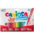 Μαρκαδόροι Carioca 24χρ Joy Superwashable