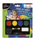Μαρκαδόροι για το Πρόσωπο Kidea make-up set 6 colours