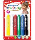 Μαρκαδόροι για το Πρόσωπο Amos - Face Paint 6 Colours
