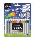 Μαρκαδόροι για το Πρόσωπο Kidea make-up crayons 12 colours