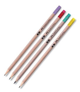 Μολύβι Faber Castel Natural 4 Χρωματα