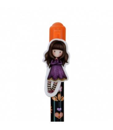 Στυλό με κινούμενη Φιγούρα GORJUSS Πορτοκαλί