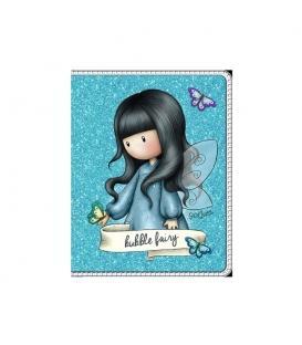 Σημειωματάριο Gorjuss SantoroΤσέπης Mini Glitter Fairy