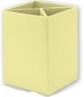 Μολυβοθήκη Spree Κίτρινη Παστέλ
