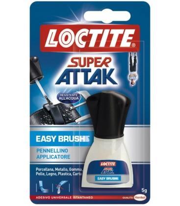 Κόλλα Στιγμής Easy Brush 5gr Με Πινελάκι Super Attak Loctite