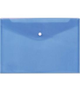 Φάκελος Κουμπί Α3 Data King Διάφανος Μπλε