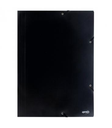 Φάκελος με λάστιχο Spree A3 Μαυρο