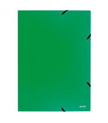 Φάκελος με λάστιχο Spree A3 Πράσινο