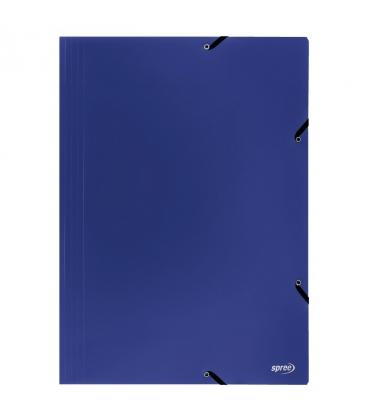 Φάκελος με λάστιχο Spree A3 Μπλε