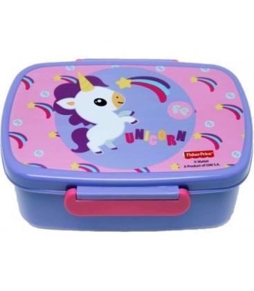 Δοχείο Φαγητού Fisher-Price Unicorn Rainbow