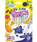 Μαρκαδόροι Carioca 12χρ Αρωματικοί Perfume