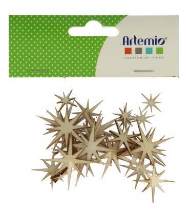 Ξύλινα Αστεράκια Artemio